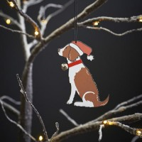 Sweet William Liver Springer Spaniel Christmas Decoration