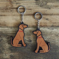 Sweet William Vizsla Keyring