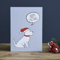 Sweet William Westie Christmas Card