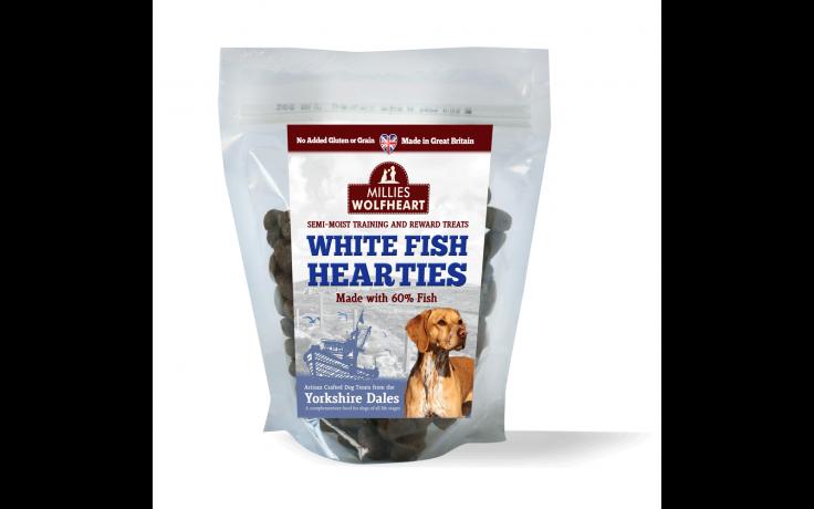 Millies Wolfheart Semi Moist Fish Treats 500g